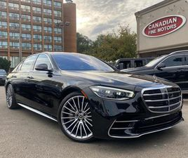 USED 2021 MERCEDES-BENZ S-CLASS S 580 ALMOST BRAND NEW INSERVICE SEPT 2021 PREM AND SPRT P