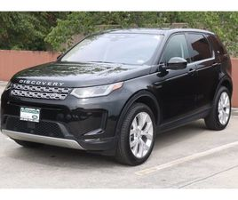 BLACK COLOR 2021 LAND ROVER DISCOVERY SPORT SE FOR SALE IN VIENNA, VA 22182. VIN IS SALCP2