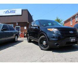 USED 2014 FORD EXPLORER AWD POLICE INTERCEPTOR FPIU SUV