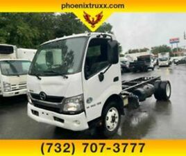 2018 HINO 195 BASE 2DR CAB OVER CHASSIS DRW