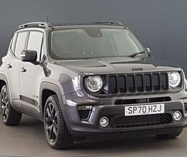 JEEP RENEGADE 1.3 T4 GSE NIGHT EAGLE II 5DR DDCT