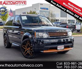 USED 2012 LAND ROVER RANGE ROVER SPORT AUTOBIOGRAPHY