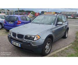 AV BMW X3 2.0 D DRIVE COULEUR GRIS
