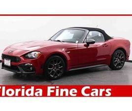 RED COLOR 2017 FIAT 124 SPIDER ABARTH FOR SALE IN MIAMI, FL 33169. VIN IS JC1NFAEK1H011739
