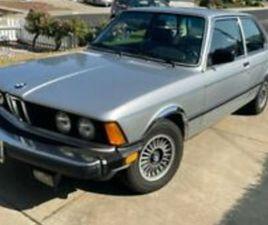 1983 BMW 3-SERIES I AUTOMATIC