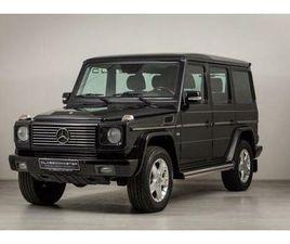 MERCEDES-BENZ G 500 BTW AUTO, FISCALE WAARDE € 22.000,- (€