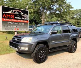 FOR SALE: 2004 TOYOTA 4RUNNER IN RALEIGH, NORTH CAROLINA