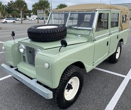 1972 LAND ROVER SERIES 2 FOR SALE