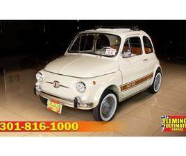 1965 FIAT 500 CABRIOLET