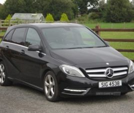USED 2014 MERCEDES-BENZ B CLASS DIESEL HATCHBACK MPV 79,600 MILES IN MAUVE/PURPLE FOR SALE