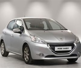 USED 2014 PEUGEOT 208 1.2 VTI ACTIVE 5DR HATCHBACK 51,539 MILES IN SILVER FOR SALE | CARSI