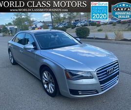 SILVER COLOR 2011 AUDI A8 L FOR SALE IN NOBLESVILLE, IN 46060. VIN IS WAURVAFD4BN020585. M