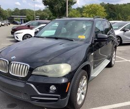 BLACK COLOR 2008 BMW X5 4.8I FOR SALE IN RALEIGH, NC 27629. VIN IS 5UXFE83598L160274. MILE