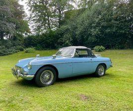 MG MGB MKI 1966 IRIS BLUE