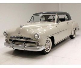 FOR SALE AT AUCTION: 1952 DODGE CORONET IN SARATOGA SPRINGS, NEW YORK