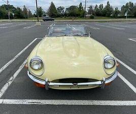 JAGUAR E TYPE 1969 4.2 OTS CABRIOLET LEFT HAND DRIVE LHD