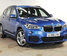 BMW X1 XDRIVE 18D M SPORT 5DR 2.0