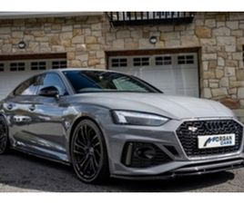 USED 2021 AUDI RS5 SPORTBACK HATCHBACK 2,000 MILES IN GREY FOR SALE | CARSITE