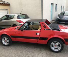 FIAT X1/9 1500 CM3 BOITE 5 VITESSES