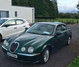 **ECO** JAGUAR S-TYPE NEW NCT GREEN 2004 FOR SALE IN KERRY FOR €2,800 ON DONEDEAL
