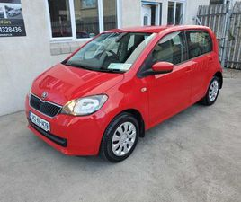SKODA CITIGO, 2014 1.0 AMBITION FOR SALE IN WICKLOW FOR €6,950 ON DONEDEAL