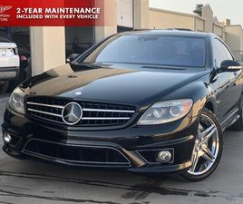 BLACK COLOR 2009 MERCEDES-BENZ CL-CLASS AMG CL 63 FOR SALE IN PLANO, TX 75093. VIN IS WDDE