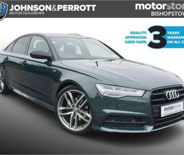 AUDI A6 2.0 TDI S LINE BLACK EDITION 187BHP AUTO FOR SALE IN CORK FOR €32,900 ON DONEDEAL