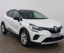 NEARLY NEW 2021 (21) RENAULT CAPTUR 1.3 TCE 130 ICONIC 5DR EDC IN GLASGOW