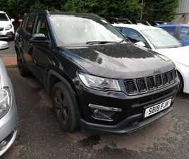 USED 2019 (19) JEEP COMPASS 1.4 MULTIAIR 140 NIGHT EAGLE 5DR [2WD] IN BISHOPBRIGGS