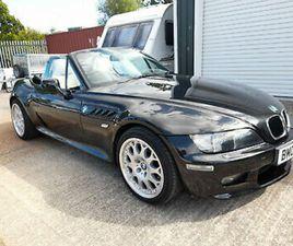 2002 BMW Z3 2.2 MANUAL - LOW MILEAGE - METALLIC BLACK £7000.00