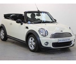 MINI ONE CONVERTIBLE 1.6 2DR