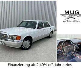 MERCEDES-BENZ S 420 SEL 420*OLDTIMER-SCHECKHEFT-KAMERA*