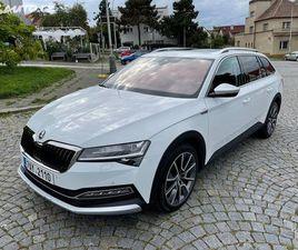 ŠKODA SUPERB, 2,0 TDI 140KW, SCOUT, FULL
