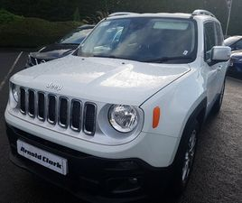 USED 2018 (18) JEEP RENEGADE 1.6 MULTIJET LIMITED 5DR IN BISHOPBRIGGS