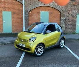 SMART FORTWO PASSION CABRIOLET AUTOMATIC (2016)
