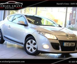 RENAULT MEGANE 1.5 DCI 90 COUPE / 2 OWNERS / NEW FOR SALE IN DUBLIN FOR €5,900 ON DONEDEAL