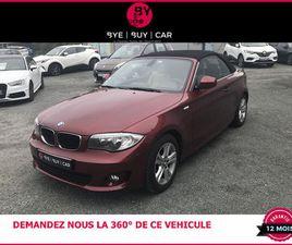 BMW CABRIOLET 118 D 145 LUXE BVA