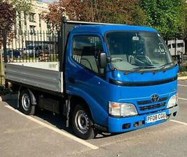 2008 TOYOTA DYNA 300 CHASSIS CAB D-4D 109HP CHASSIS CAB DIESEL MANUAL
