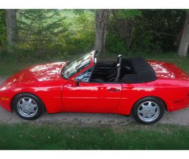 1990 PORSCHE 944 S2 16V CABRIOLET WITH LOW KMS GUARDS RED, | CLASSIC CARS | ANNAPOLIS VALL