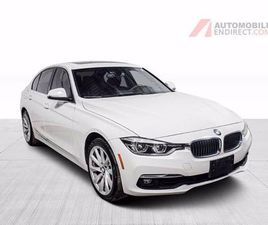 2017 BMW 3 SERIES 330I LUXURY XDRIVE CUIR TOIT GPS SIÈGES CHAUFFANTS