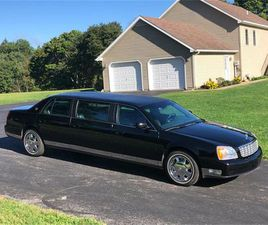 FOR SALE AT AUCTION: 2001 CADILLAC DEVILLE IN CARLISLE, PENNSYLVANIA
