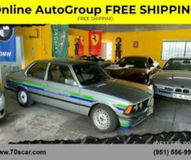 1983 BMW 3-SERIES 320I 2DR COUPE