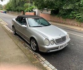 MERCEDES 320 CLK CONVERTIBLE IMMACULATE CONDITION 82,000 FULL HISTORY