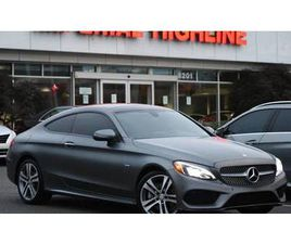 C 300 COUPE RWD