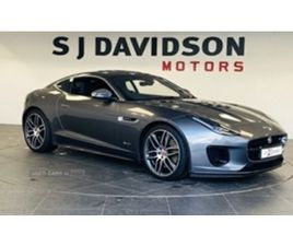 USED 2018 JAGUAR F-TYPE R-DYNAMIC COUPE 5,780 MILES IN GREY FOR SALE   CARSITE