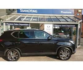 USED 2019 SSANGYONG REXTON 2.2 ULTIMATE 5DR AUTO ESTATE 40,524 MILES IN BLACK FOR SALE | C