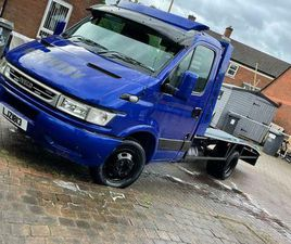 2006 IVECO DAILY RECOVERY TRUCK LOW MILES 38K