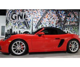 USED 2018 PORSCHE 718 BOXSTER GTS - CONVETIBLE - COUPE