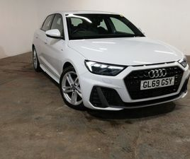 USED 2019 (69) AUDI A1 30 TFSI S LINE 5DR IN DUMBARTON