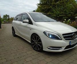 MERCEDES B180 AUTO 1.6 BE LOW MILEAGE HALF LEATHER FOR SALE IN DUBLIN FOR €12,950 ON DONED